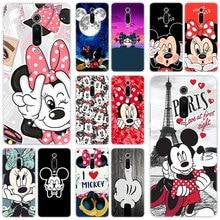 Hot Cute Cartoon Mickey Minnie Silicone Case for Xiaomi Mi 9