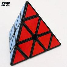 Qiyi qiming a 3x3x3 Пирамида магический куб соревнование головоломки