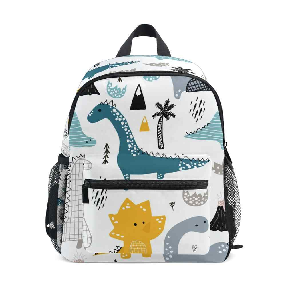 Toddlers Kids Girls Boys Dinosaur Style Backpack Shoulder School Bags Rucksack