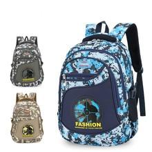 children School Bags boys Camouflage backpack Primary school backpack orthopedic kids Waterproof backpack mochila infantil