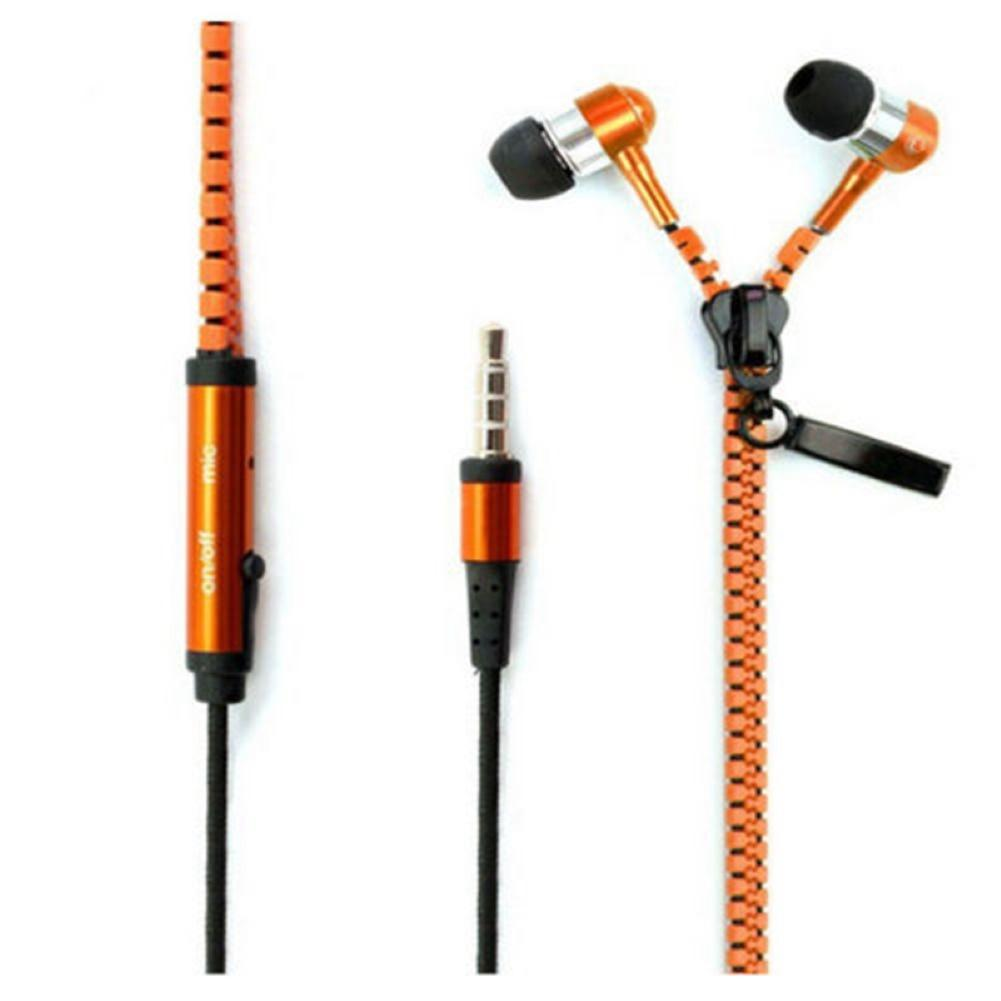 Professional In Ear Earphone Metal Heavy Bass Sound Quality Music Earphones High-End Brand Headset Fone De Ouvido 3.5mm Zipper
