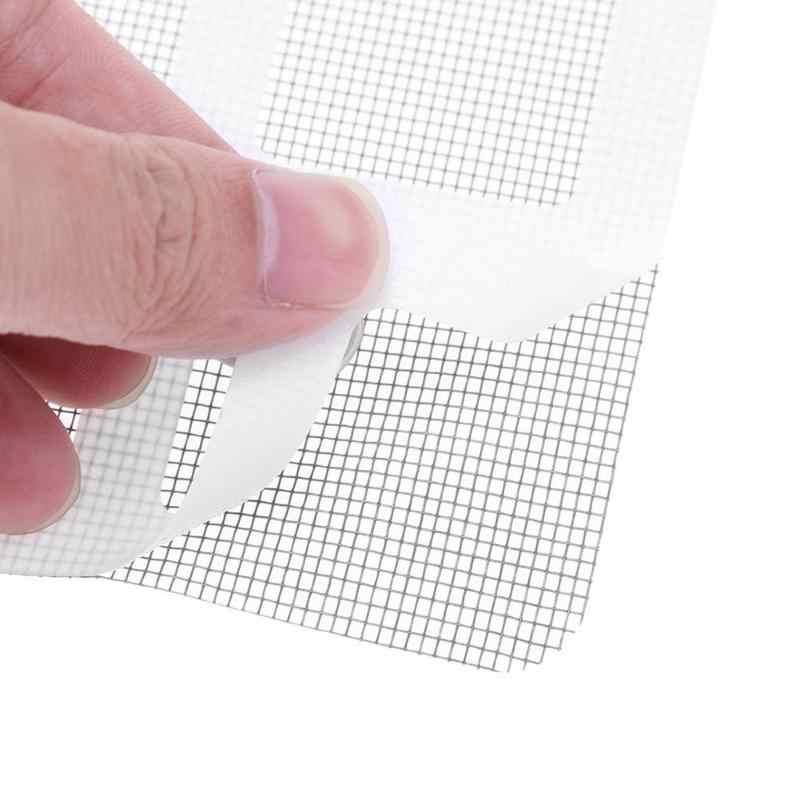 3 piezas de parche de cinta de reparación de pantalla de mosquitos antiinsectos