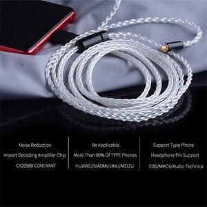 Image 2 - Кабель для Hi Fi наушников CABLETIME, 0,78 провод, акустический кабель Type c, сменный провод для обновления звука, OCC DIY Hi Fi наушники MMCX 1,2 м