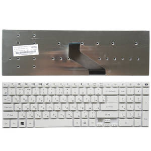 YALUZU Russian Keyboard E5-571G Acer Aspire FOR E1-511P Black New