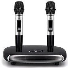 K8 óptico sem fio bluetooth v5.0 microfone hdmi arco família casa sistema de eco karaoke karaoke caixa cantar jogador