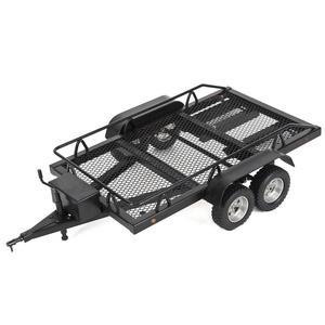 LeadingStar Моделирование RC автомобиль грузовик прицеп двойной оси гусеничный Trx4 Scx10 90046 90047 CC01 D90