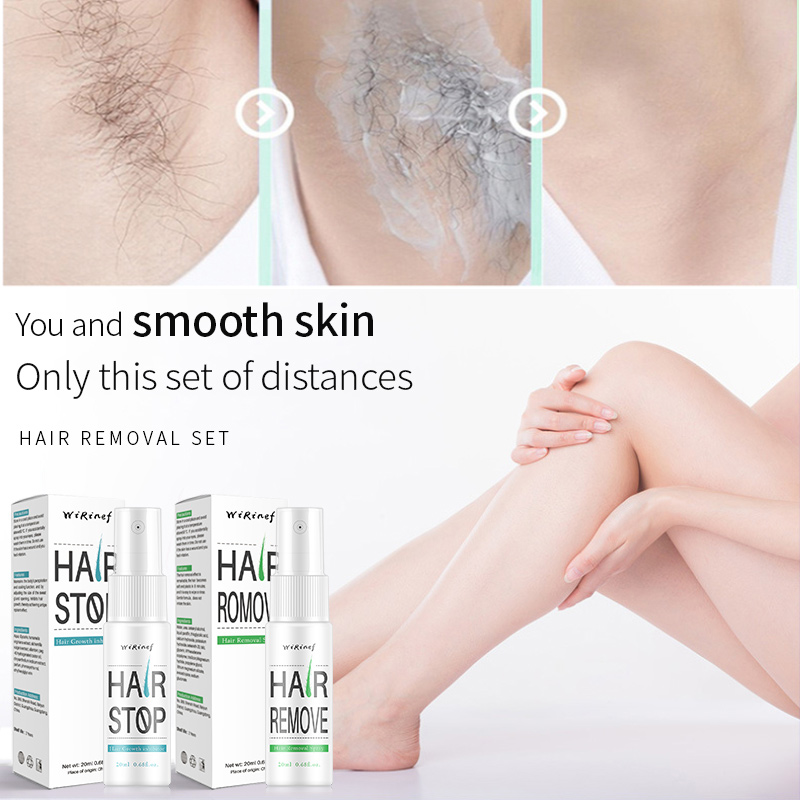 Prevents Hair Growth Inhibitor Spray After Hair Removal Use Whole Body Leg Body Armpit Facial Depilation Essence Liquid