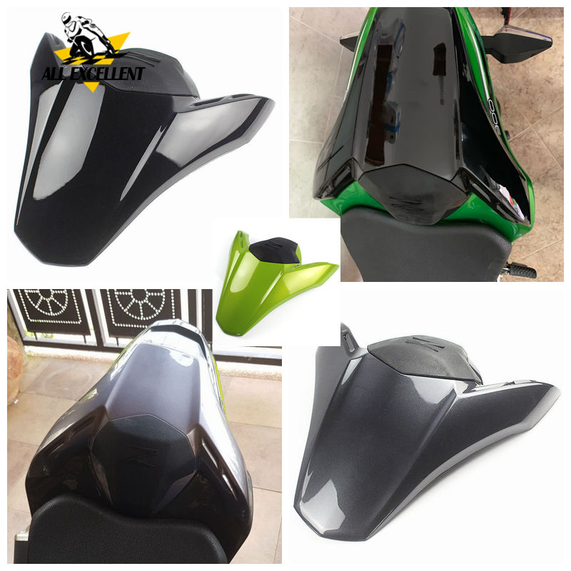 Motorcycle Rear Passenger Pillion Solo Seat Cowl Hard ABS Motor Fairing Tail Cover For 2017 2018 Kawasaki Z900 A B S