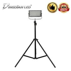 DINGDIAN LED 12 85V zewnętrzny statyw IP66 wodoodporne reflektory 50W ultra jasne LED światło halogenowe DIY LED lampa zewnętrzna zimny biały w Reflektory od Lampy i oświetlenie na