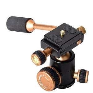 Image 2 - Q160 Professional Travel Camera Tripod Ball Head Handle Pan Head Compatibility for Digital Camera