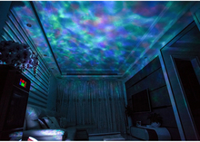 7 Color Changing Music Player Undersea Projector Lamp 12 LED Chips For KTV Children Bedroom Decoration