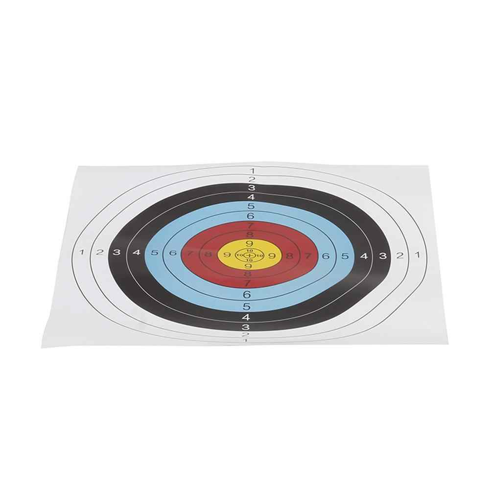 Archery Target Paper Faces Paintball Training Daily Practice Sheet 41*41CM