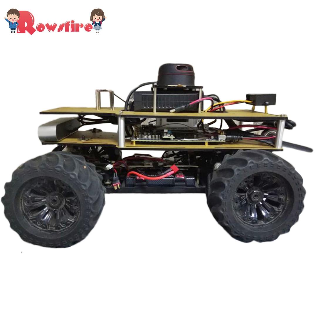 1/10 Programmable ROS Robot Ackerman Suspension Autopilot Ride Kit For Jetson TX2 - Outdoor Version/Indoor Version/Basic Version
