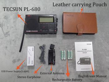 Радиоприемник TECSUN PL-680, FM/AM/SW/SSB 5