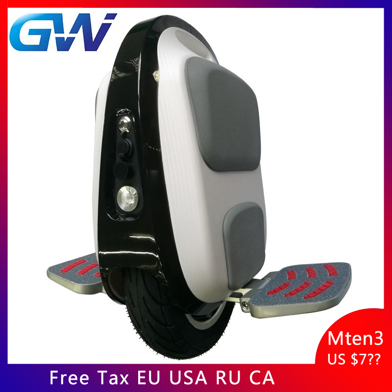 Gotway Luffy Mten3 84V Mini electric unicycle 10inch weight 10kg max speed 40km/h,life 40-50km,LED light,Allow aircraft check-in