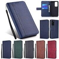 Wallet Leather Case Voor Huawei P8 P9 Lite Mini P10 Plus P20 Pro P30 P40 Lite E Y5P Y6P Y6S y7P Y7a Y8S Y8P Y9a Boek Telefoon Tas