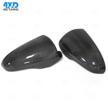 M5 F10 Carbon Fiber Mirror Cover For BMW M6 F06 F12 F13 RearView mirror cover Replace 2012 2013 2014 2015 2016 2017 2018 2019