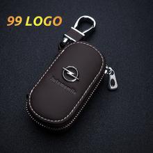 Skórzana obudowa kluczyka do samochodu z pilotem pokrywa torba portfel dla Audi BMW Mercedes Geely Mazda Mini Opel Jeep Subaru Citroen Peugeot KIA tanie tanio KOLEN CN (pochodzenie) Górna warstwa skóry