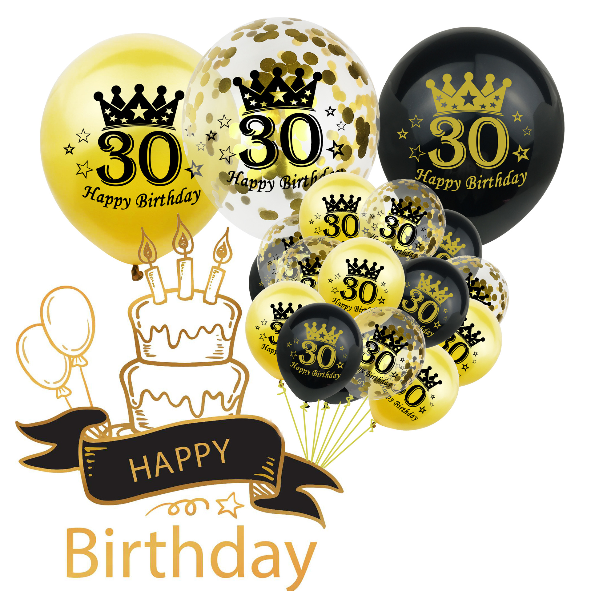 30TH Fiesta de Cumpleaños 20 Papel Servilletas edad señales de tráfico