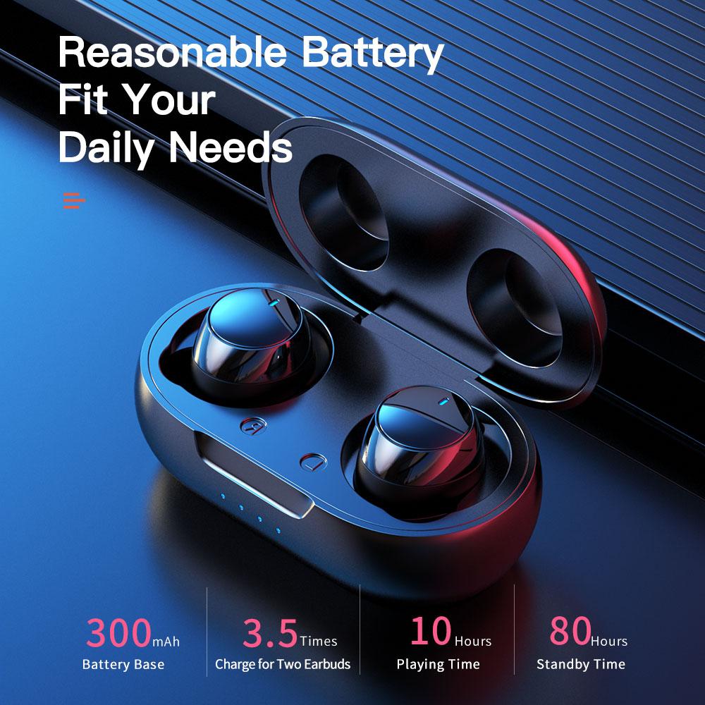 lowest price True Wireless Earbuds Nillkin Wireless earphone with Mic CVC Noise Cancelling headphones Bluetooth 5 0 headset IPX5 Water Proof