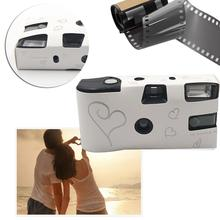 1pc Film Camera 27 Photos Power Flash HD Single Use One Time