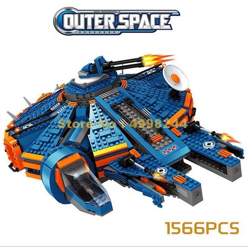 Ausini 25960 1556pcs di star wars outer space ship building block Mattoni Giocattolo-in Blocchi da Giocattoli e hobby su  Gruppo 1