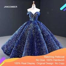 J66991 jancember голубое платье quinceanera 2020 милые короткие