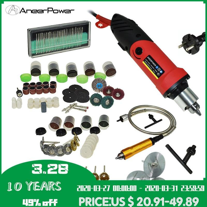 Professional 480W Dremel Mini Diy Drill Engraver Mini Drill Machine Pen Grinder Rotary Tool Polishing 6 Speeds Can Be Adjusted