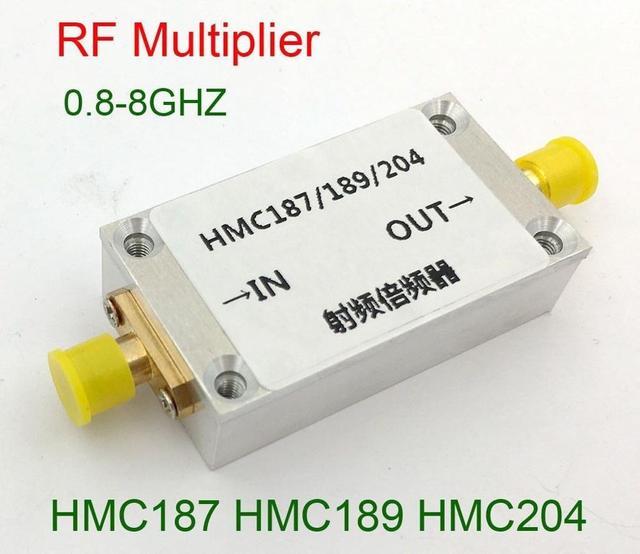 HMC187 HMC189 HMC204 0.8GHZ 8GHZ multiplicateur de fréquence RF maximum 8000Mhz pour le LAN damplificateur de radio de jambon