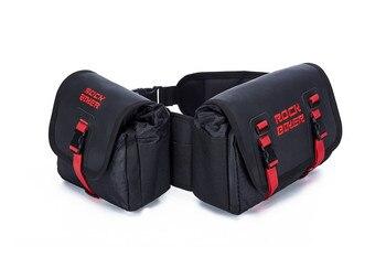 ROCK BIKER Top Case Moto Motorcycle Rear Bag Add-on Package Multifunction Saddle Shoulder tank bag Send Waterproof Cover