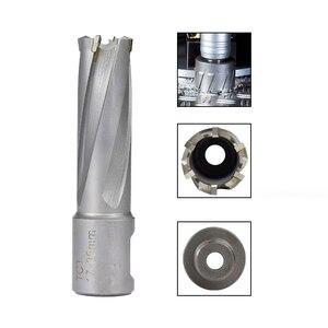 Image 5 - CMCP cortador anular TCT con vástago de Weldon para Sierra de agujero de taladro magnético, 1 unidad de diámetro, broca de núcleo de 13 32mm x 35mm