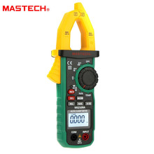 купить Mastech MS2109A Auto Ranging Digital AC/DC Clamp Meter Frequency Capacitance Temperature & NCV Tester онлайн