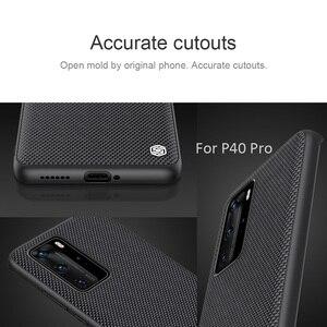 Image 5 - Nillkin funda con diseño de textura de nailon para Huawei P40 Pro, texturizada