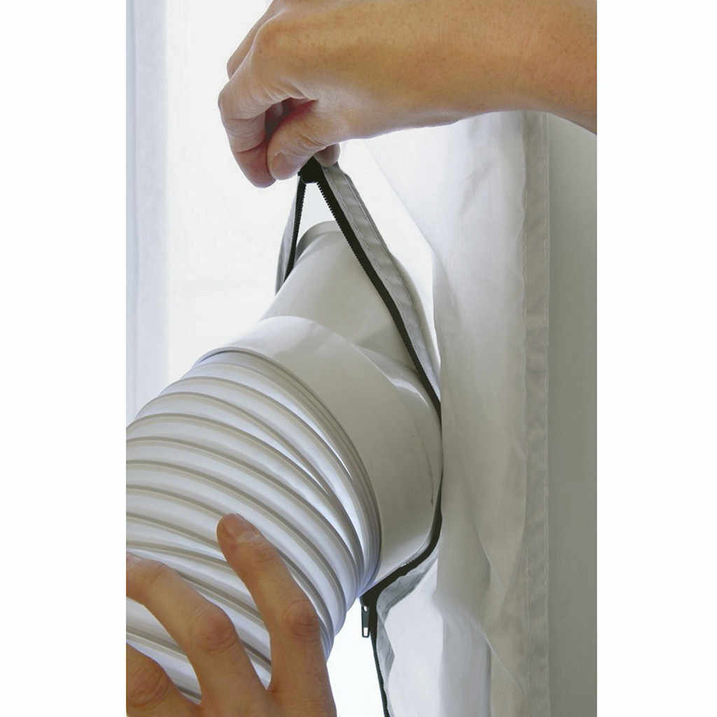Tubo de escape móvil Universal para aire acondicionado, tubo de calor telescópico, modelo de pies, pies