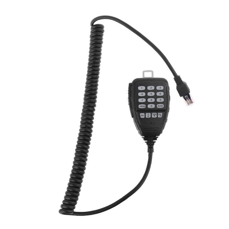 DTMF Speaker Microphone For QYT KT-8900D KT-8900 KT8900R KT-7900D Mini-9800 KT8900 Car Mobile Radios