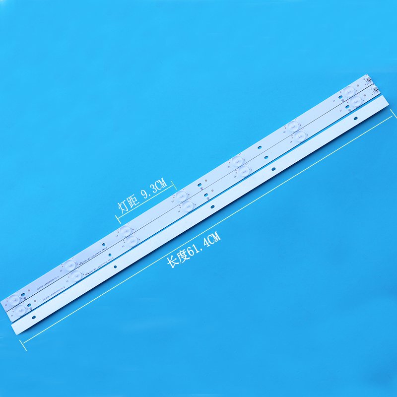 1 Set=3 PCS New Original LED Strips LED GJ-2K15 D2P5-315 D307-V1.1 01L67-1 PARA FOR PHILIPS 32PHH4100