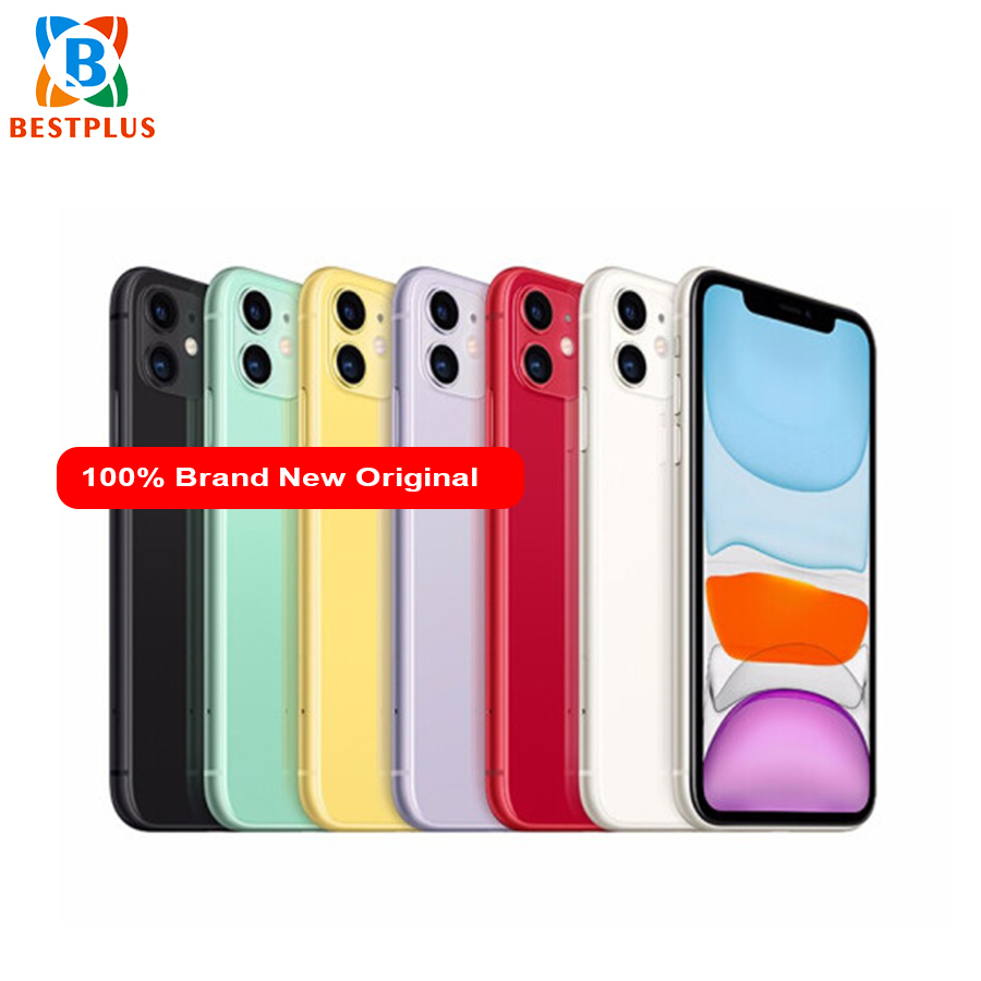 "Brand New Apple iphone 11 A2223 Mobile Phone6.1"" 4GB RAM 64G/128G/256GB ROM iOS 13 3046 mAh IP68 waterproof Dual SIM Cell Phone"