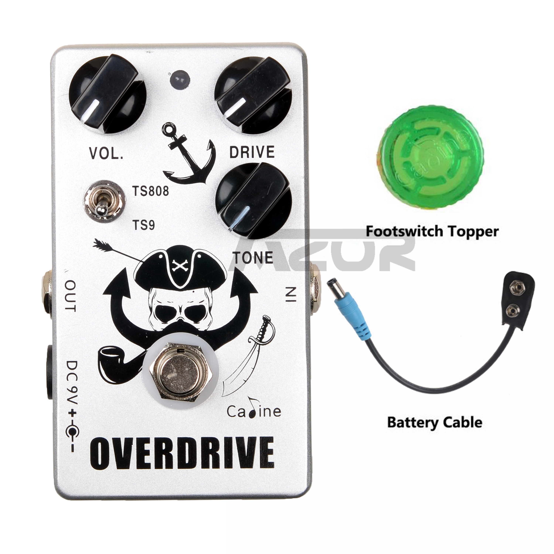 CP-76 Overdrive Guitar Pedal Tube Screamer 9V Guitar Accessories Guitar Effect Pedal Guitar Parts Mini Pedal Good Quality