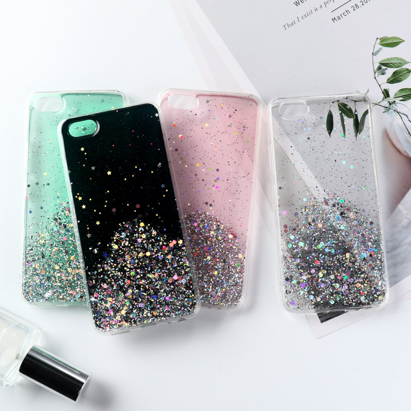 3D Glitter Bling <font><b>Case</b></font> For <font><b>Vivo</b></font> Y11 2019 V11 V15 Pro V9 V7 Plus X21s X23 X27 Y17 Y75 Y79 Y83 Y85 <font><b>Y95</b></font> Y93 Y91 Z5X IQOO NEO Cover image