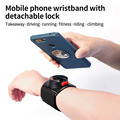 Running Mobile Phone Armband Outdoor Camera Riding Navigation Universal Bracket Apple Samsung Sports Fitness Removable Wristbag