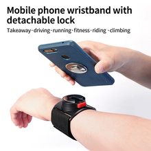 Running Mobile Phone Armband Outdoor Camera Riding Navigation Universal Bracket Apple Samsung Sports Fitness Removable Wristbag