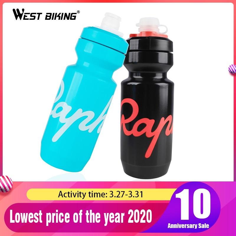 Rapha Sport Water Bottle 620ml 750ml Leak-proof Cycling Ultralight PP Drink Water Bottle Bike Lockable Mouth Water Bottle Gray