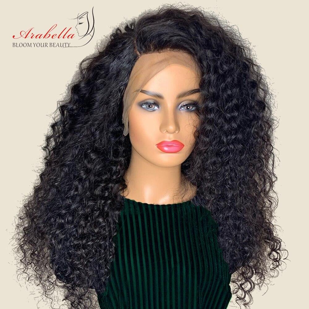 Brasileño de la onda profunda 360 peluca delantera de encaje Color Natural Arabella frente del cordón del pelo Remy pelucas de cabello humano 180% de densidad de arrancado-in Pelucas de pelo mezclado from Extensiones de cabello y pelucas on AliExpress - 11.11_Double 11_Singles' Day 1
