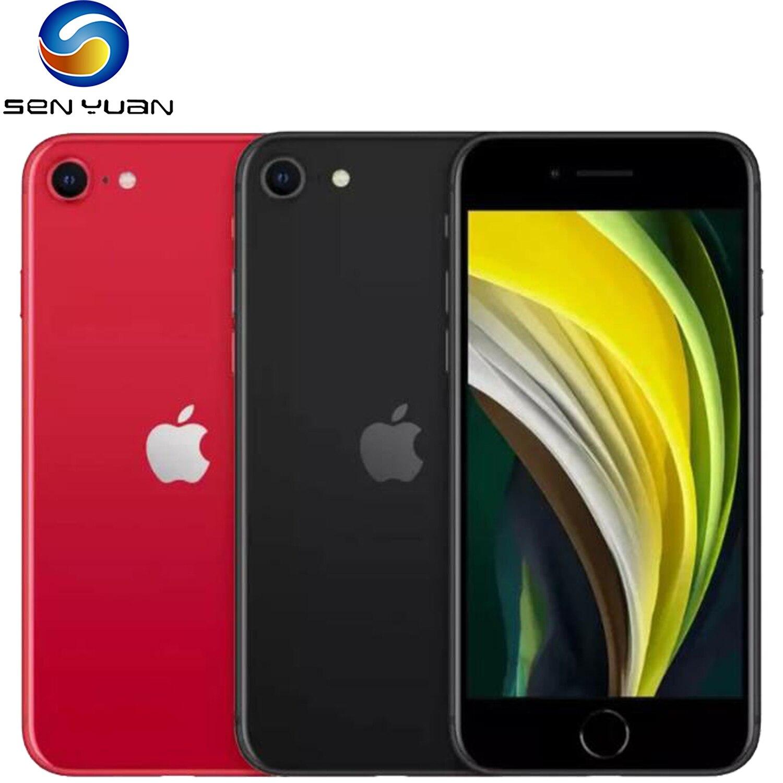 Оригинальные смартфоны Apple iPhone SE 2020 4,7 дюйма A13 3G RAM 64/128/256 ГБ ROM шестиядерные сотовые телефоны 1821 мАч