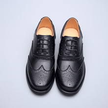 Women Casual Shoes Oxford Genuine Leather  Low (1cm-3cm)