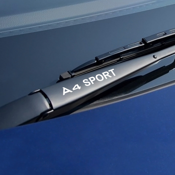 Dla Audi A4 B5 B6 B7 B8 B9 samochód winylu naklejki pcv wycieraczka sportowe wystrój aut odblaskowe naklejki dekoracji akcesoria samochodowe