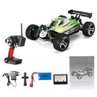 Buggy Oyuncak Çocuklar 2.4GHz RC Araba Elektrikli Yarış 1:18 Hediye 4WD Off Road Uzaktan Kumanda Dört Tekerlekli sürücü A959 B 70 km/saat