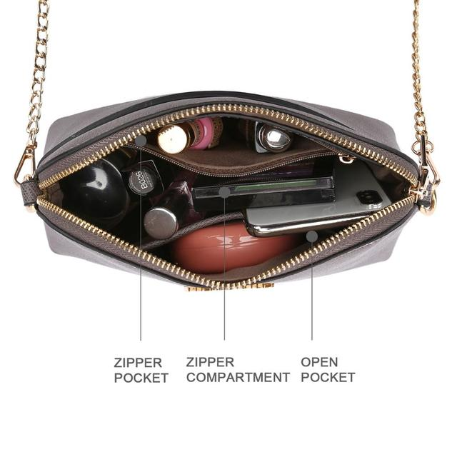 AMELIE GALANTI crossbody bags for women Metal zipper is not easy to damage autumn and winter new color wild Temperament bag 2020 | HOTSHOPDIRECT