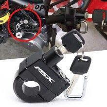 Motorcycle Accessories Anti-theft Helmet Lock Security For Honda MSX 125 Grom/SF MSX125SF 2016-2020 18 19