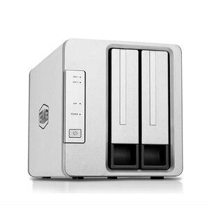 Image 2 - 2 Bay HDD NAS 2bay NAS for Home SOHO Office Network Storage Cloud Server 1Gb Memory 1*RJ 45 G Ethernet Raid Function